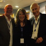 BNC sandwiched between Sir Bob Harris and Sir George Martin...yeah!