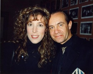 BNC with Bernie Taupin at my Roxy Showcase in 1990!