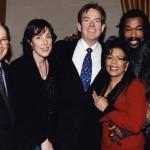 L to R Hal David, BNC, Jimmy Webb, Ashford & Simpson...yeah!