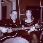 """In the studio with John Hiatt singing and playing on """"World Of Hurt"""" from Deeper Still 2000."""