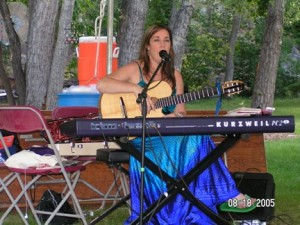 Performing/teaching at the Rocky Mountain Folk Fest