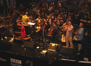 Friday Night is Music Night BBC live radio show with orcherstra