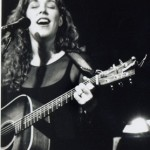 Performing at the Troubador
