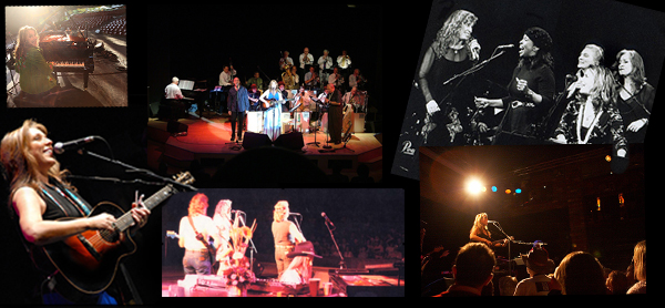 Collage of performance
