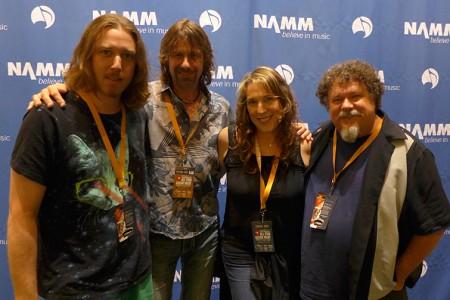 Fun at the Nashville NAMM show!