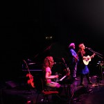 Ruth Trimble, Maartin Allcock and I on tour.