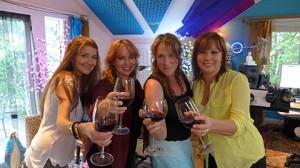 Wine women and wine!