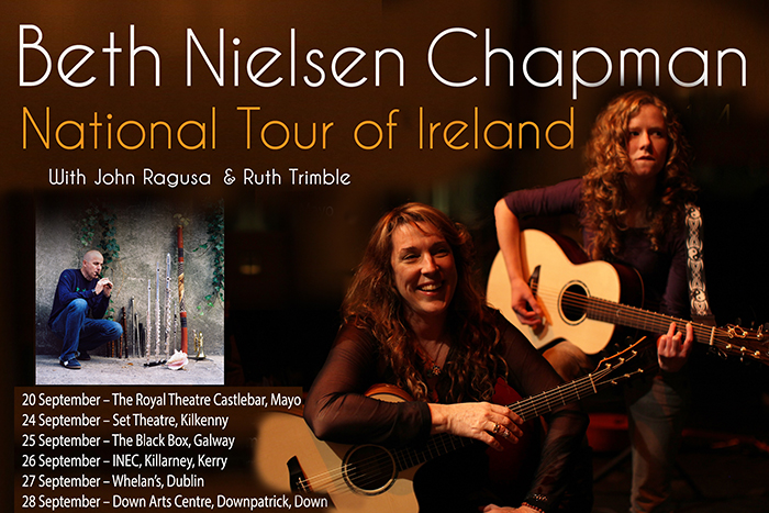 National Ireland Tour posterNEWw John WB