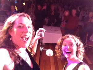 BNC & Ruth Selfie with the audience