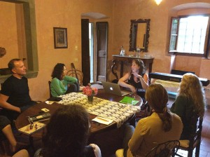 Teaching in Tuscany