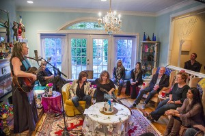 Singing with Suzy Boggus, Gretchen Peters, Kim Carnes, Calahan, etc.!