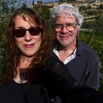 Me and my husband Bob having fun in the Tuscan sun.