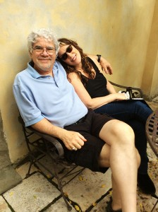 Bob & Beth relaxing in Tuscany