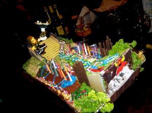 Ernest's 30TH BDAY Skateboard CAKE!