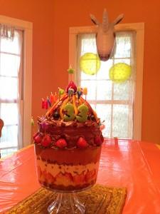 Ernest's Pyramid Birthday Cake