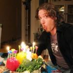 Ernest's Vegan Birthday Cake