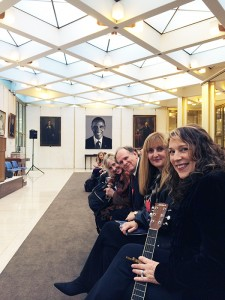 Hanging at the American Embassy