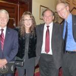 Michael O'Brian of NASA International, BNC, Rocky, & Gilbert KirkhamNASA EuropeRepresentative