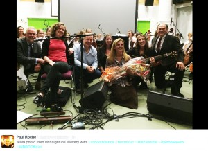 Ruth Trimble, Paul Roche, Kerry Horner,Trudie Myerscough-Harris, BNC & Rocky Alvey after a great show!