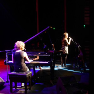 Ruth Trimble & Andrea Begley performing on my tour in Northern Ireland
