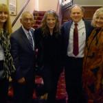 Trudie Myerscough-Harris, NASA Admin. Charlie Bolden, BNC, Rocky Alvey, & Lynn Maddox in London.