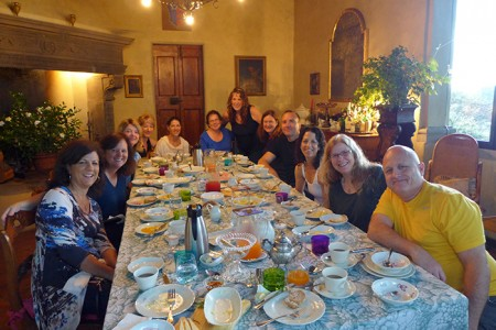 Tuscany Gallery~ Teaching and Eating! October 2014