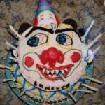 Scarey Clown Cake