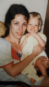 Me and my little son at around 20 months