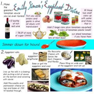 Emily Simon's Eggplant Divine