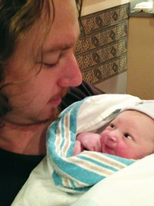 First peek at Dad, my son Ernest with his son Atreyu