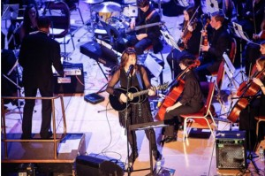 Huddersfield student orchestra all around me!