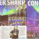 Big spread in the Huddersfield paper!