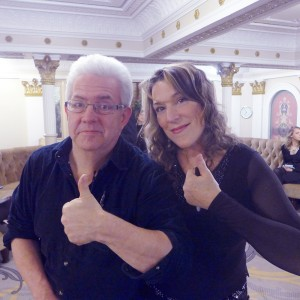 Myself and Ian McMillan