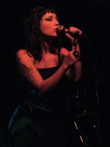 Jessie in Blue Heart band