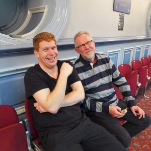 2 geniuses: Paul Roache and Nick Swift!