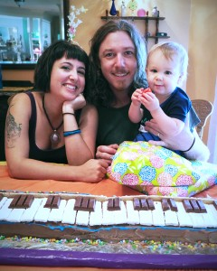 Trey's first birthday cake by Grammy