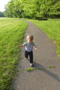 Run-away baby.