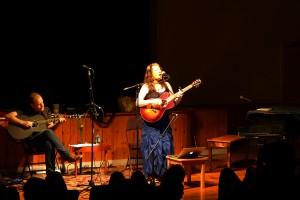 Performing with David at Omega 2014