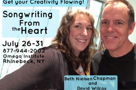 Coming Up! Omega July 26–31 Songwriting From the Heart Workshop with David Wilcox