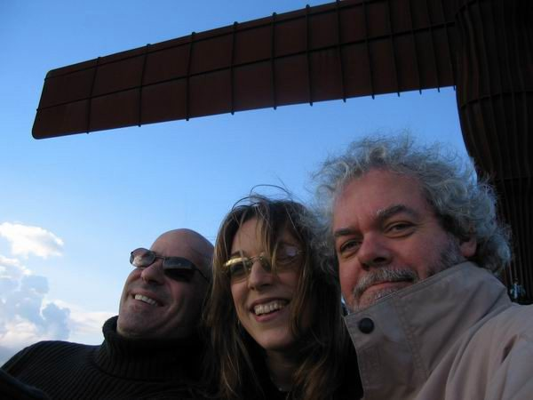 Fab musicians John Ragusa and Maartin Allcock