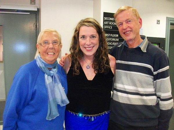Meeting up with Fred and Anne Roundtree who've been helping me find my Irish roots!