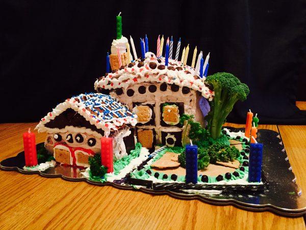 Ernest's Birthday 2016 new house cake!