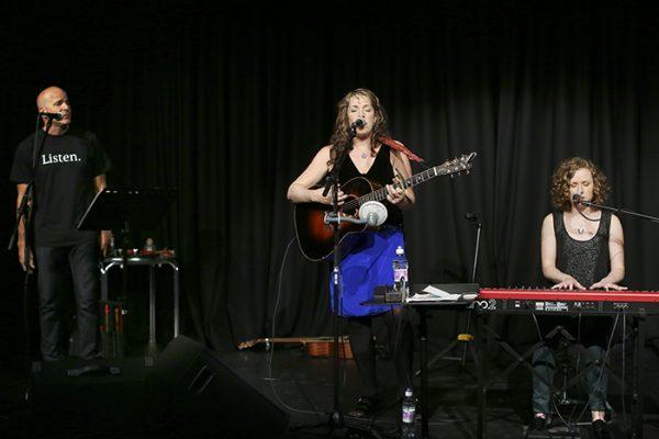 Performing with John Ragusa and Ruth Trimble