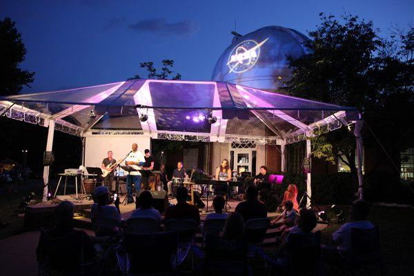 Performing at the Vanderbilt Dyer Observatory, Nashville, TN.