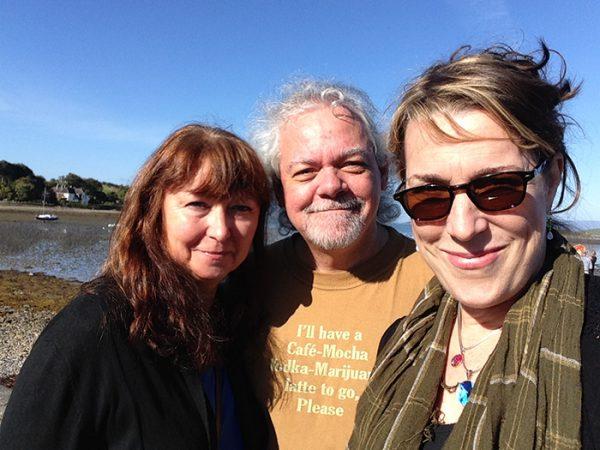 Walking along the edge of Ireland with Maartin Allcock and Jan