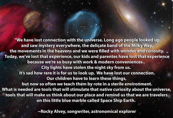 Words of Rocky Alvery