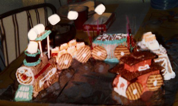 Choo Choo Train Cake