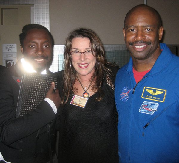 will.i.am, BNC, Astronaut Leland Melvin at the landing of the Curiosity, JPL Lab, CA