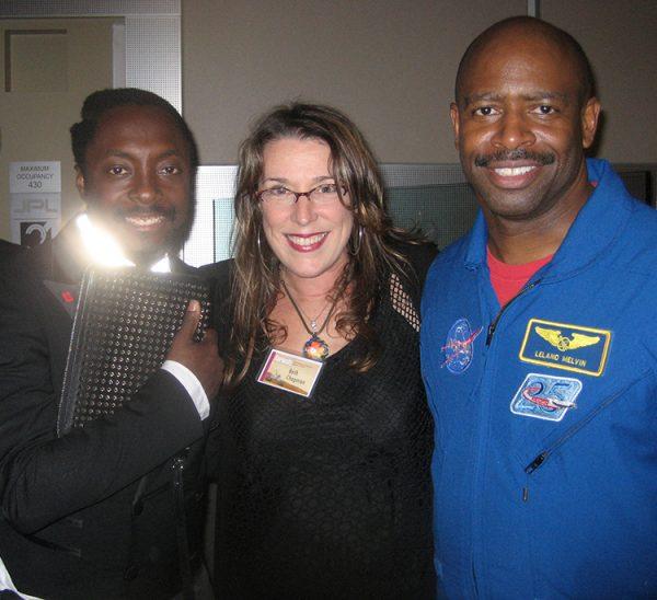 will.i.am, BNC, Astronaut Leland Melvin at the landing of the Curiosity, JPL Lab, CA