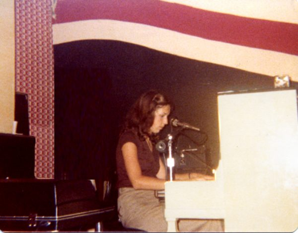 Performing at the Kove age 19.